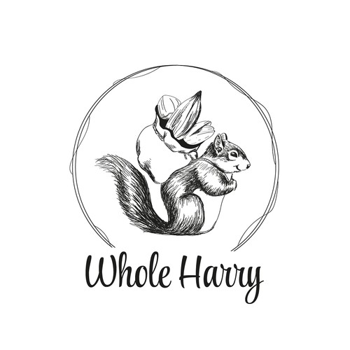 logo concept for a company selling whole foods