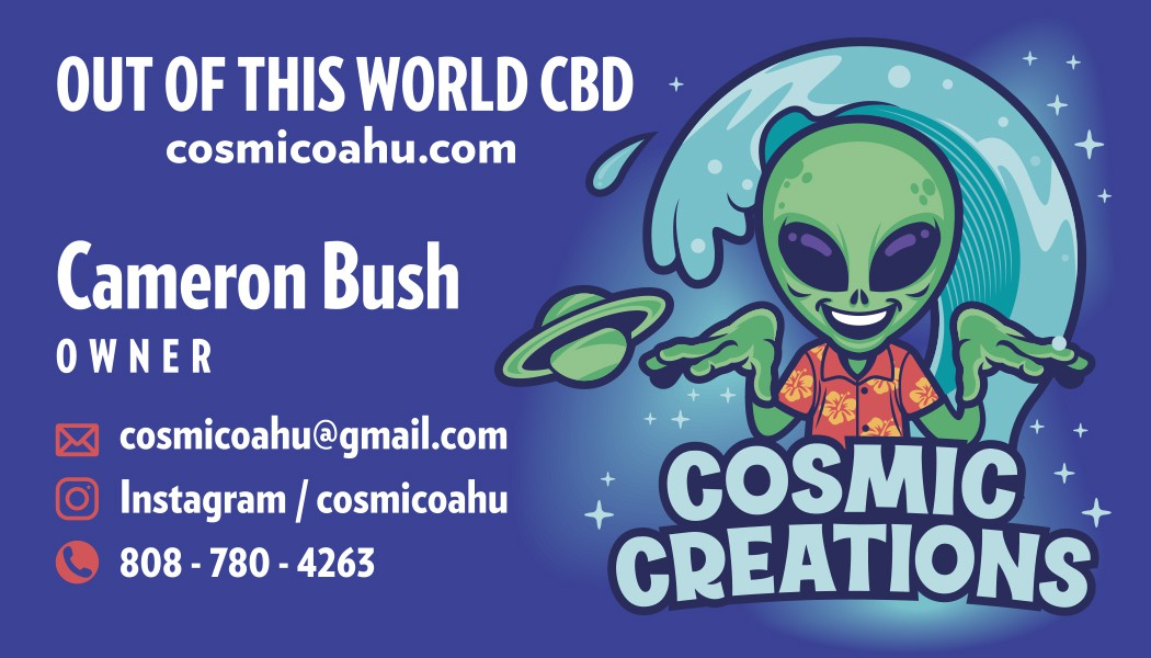 Alien themed t-shirt design, hoodie, hat, and business cards