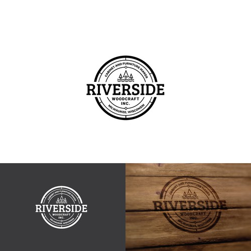 Logo for Woodcrafting company.