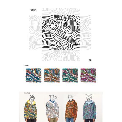 Pattern Design for Luxury Fashion Brand