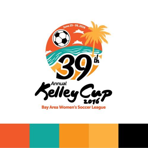 Annual Women's Soccer League Logo