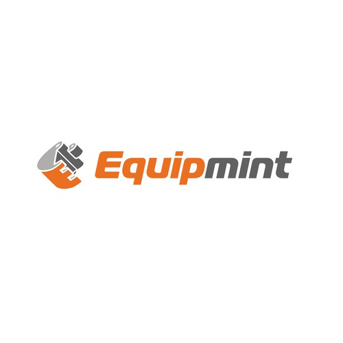 Create a fresh, dynamic, streamlined logo/biz card for Equipmint.