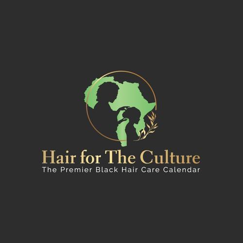 Making a logo for premier black hair care calendar