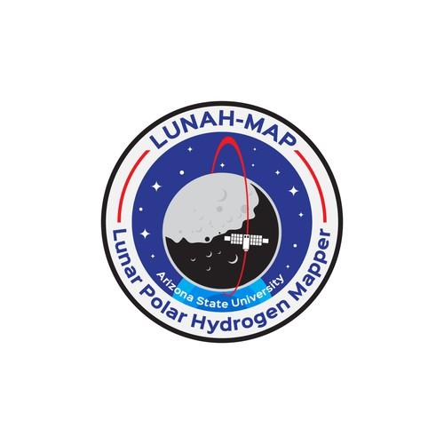 Emblem logo for Nasa Lunah-Map, Arizona State University