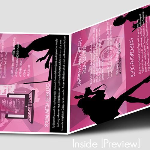 broschure for dieheiden - communication agency