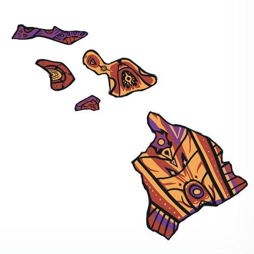 Pacific Hawaiian Tattoo