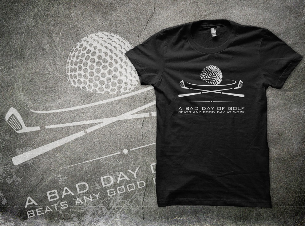 Create a clean, new t-shirt design for golf lovers!