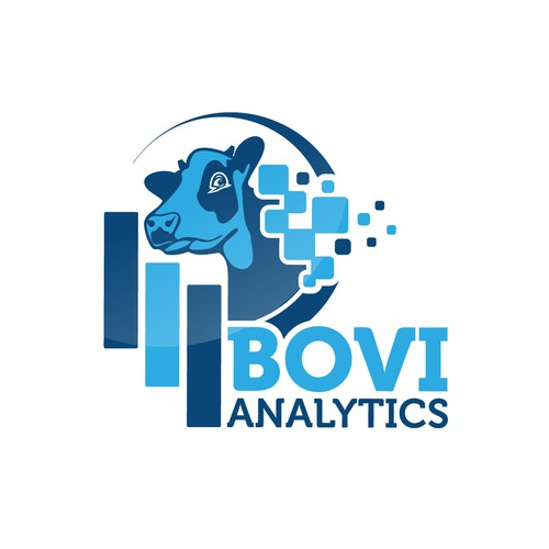 Powerfull logo for Bovi-Analytics !