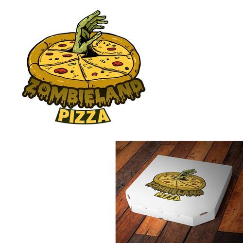 a logo for a pizzeria