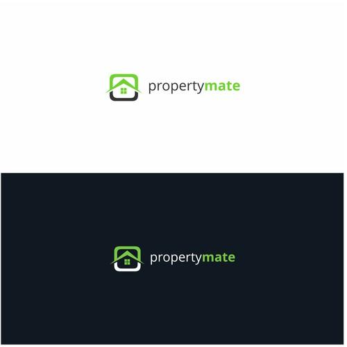 logo concept for descripsion propertymate