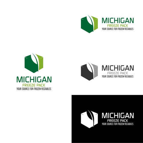 Create a new, exciting logo for our frozen vegetable processing company