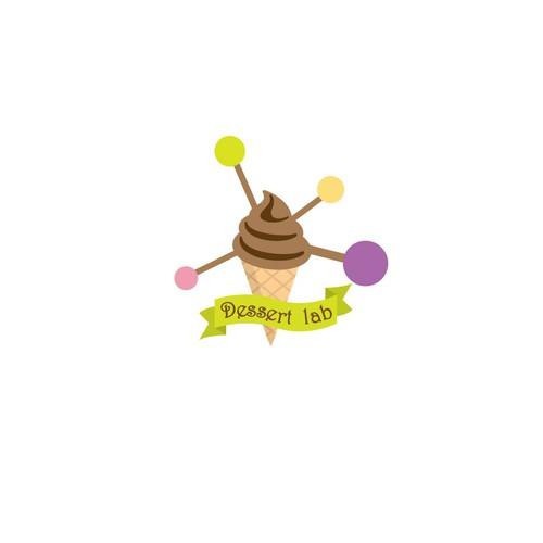 Dessert logo concept