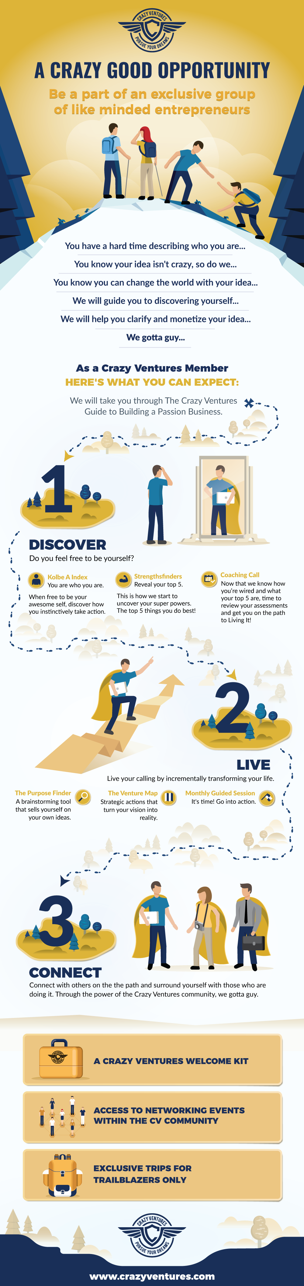 The Crazy Ventures Guide to Building Your Passion Business