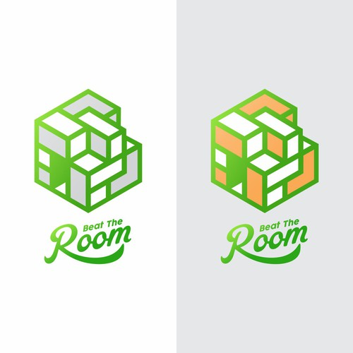 Bold logo concept for Puzzle Room
