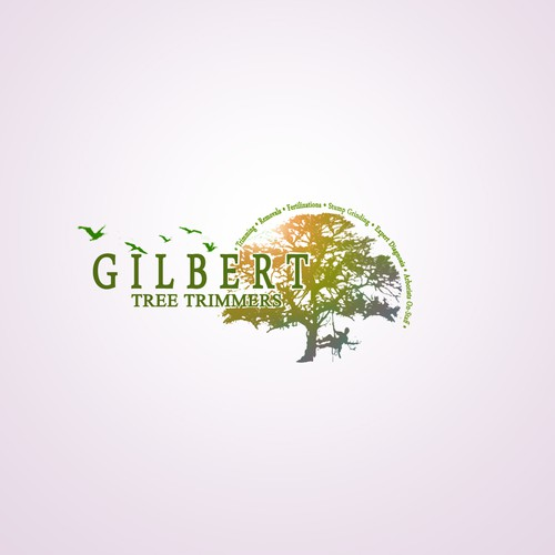 GILBERT LOGO (création de yusef Yusef Designer.