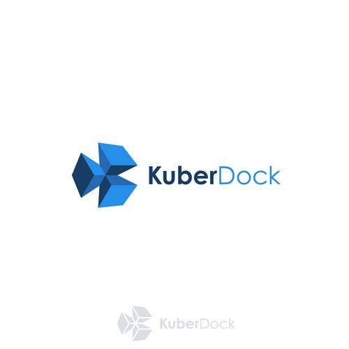 KuberDock logo design