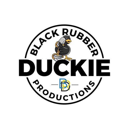 Black Rubber Duckie