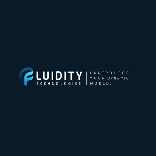 Fluid logo for fluidity Technologies