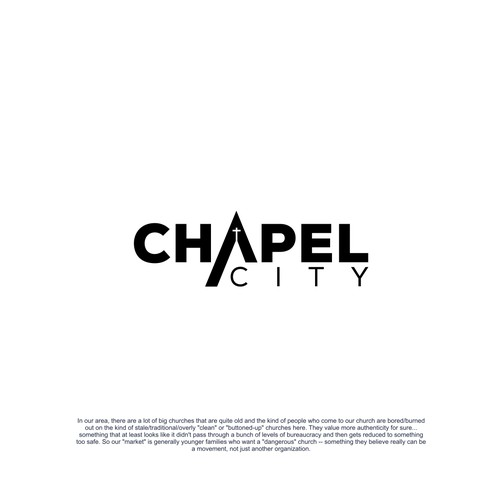 City Chapel - TEXT-only MODERN / PRO / FRIENDLY