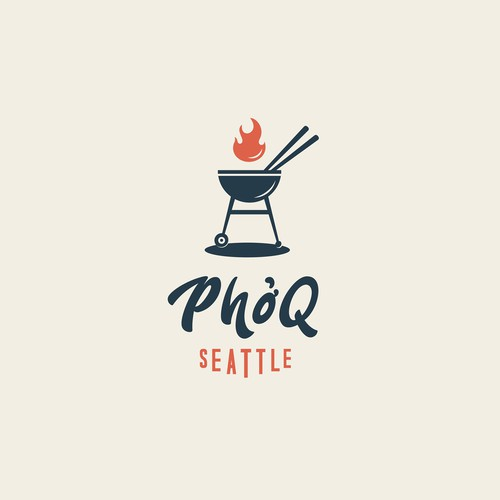 Classic Logo for a fusion food restaurant