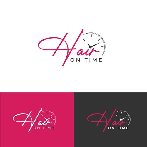 Hair on Time Logo