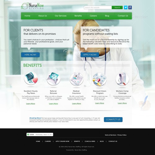 Medical Services Website