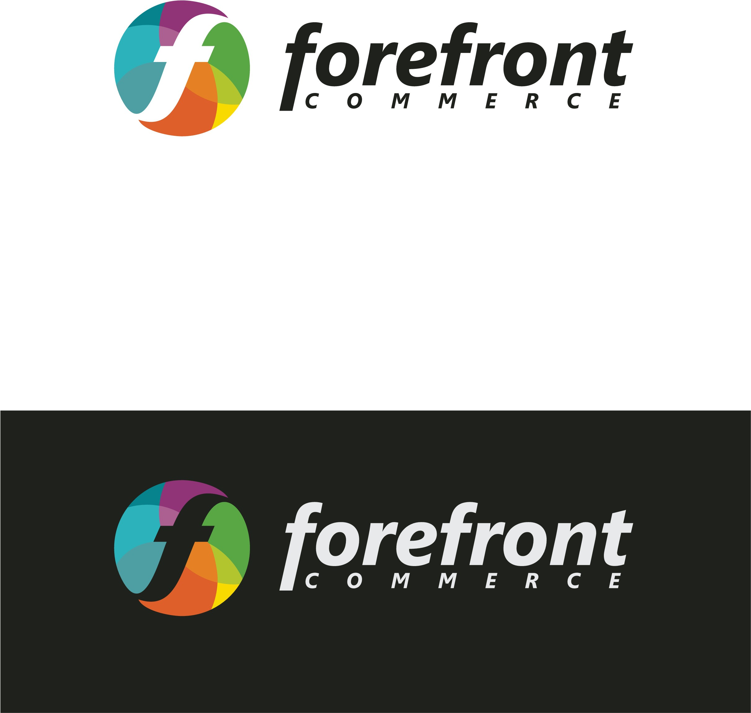 Create a fun logo to help us live up to our name, Forefront Commerce.