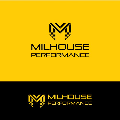 Concept Logo for Milhouse Performance