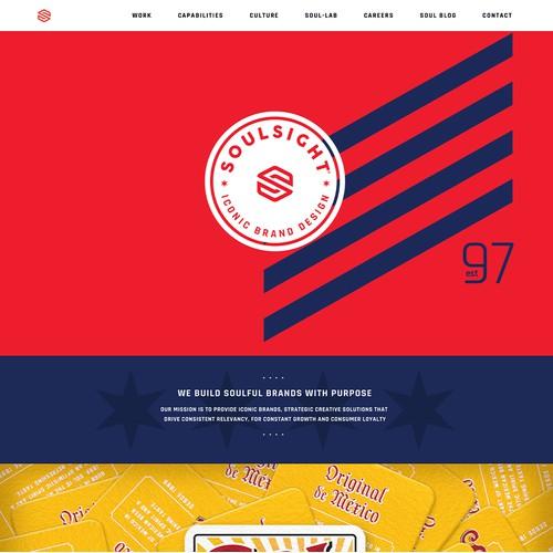 Squarespace Website for Creative Branding Agency - Soulsight Branding Agency