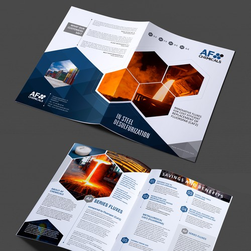Redesign of Brochure for Chemical Company