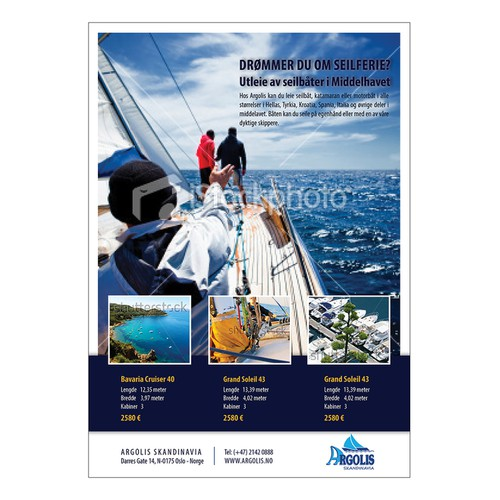 Argolis needs a new Yacht Charter fullpage add