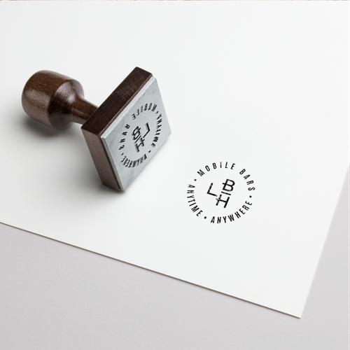Elegant logo for Mobile Bar Hire