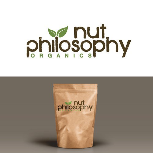 Nut Philosophy winning logo design.