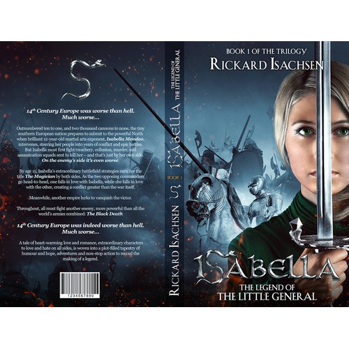 Create a bestselling e-Book and PoD for Book 1 of the Trilogy about the extraordinary ISABELLA