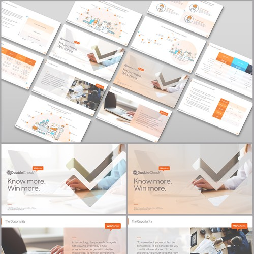 PowerPoint Template for DoubleCheck