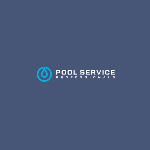 POOL Service logo concept
