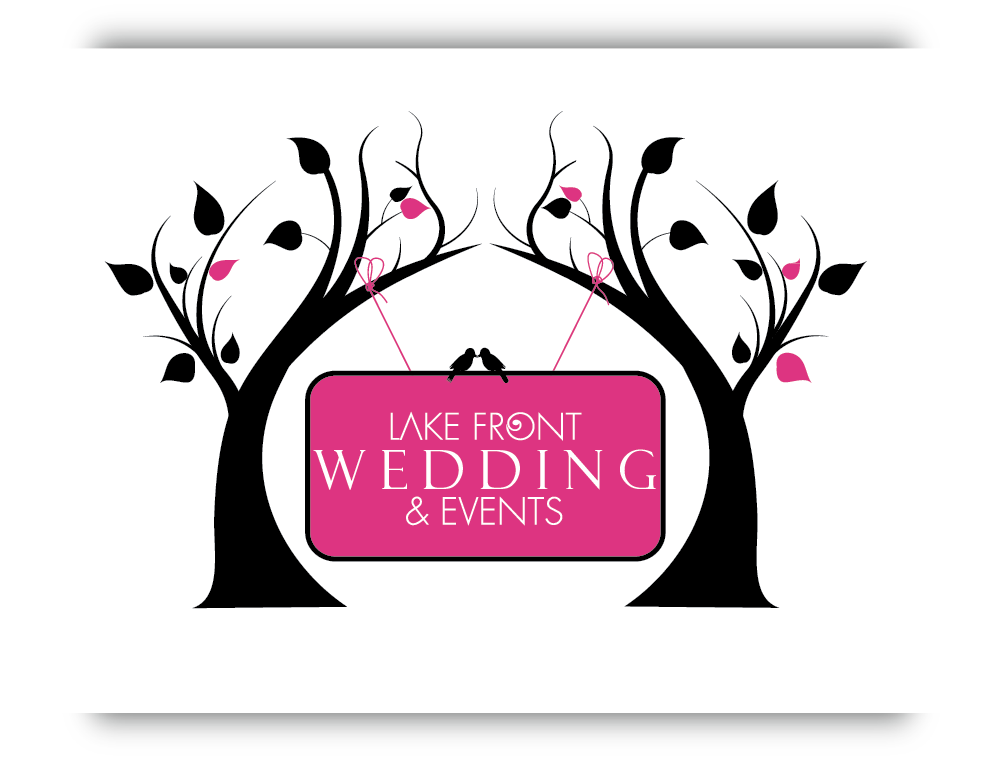 Help Lake Front Wedding & Events with a new logo