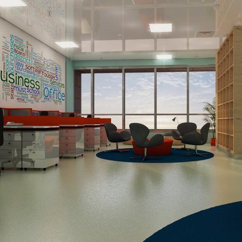 Industrial/Office building Interior