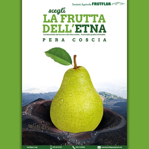 La frutta dell'Etna