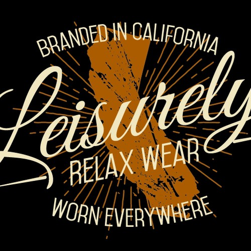Create Fun, Unique, Vintage Tee For Leisure Brand