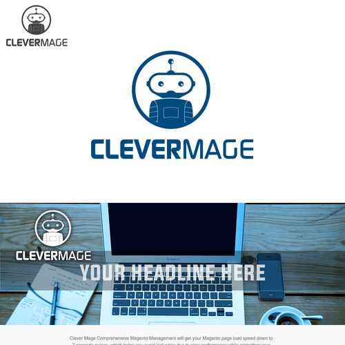 Bold logo concept for Clevermage