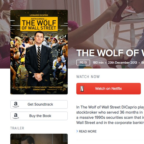 Creating a website to showcase Netflix Movies