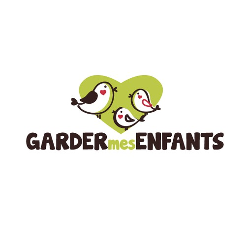 A new logo to impulse a new dynamic for garder-mes-enfants