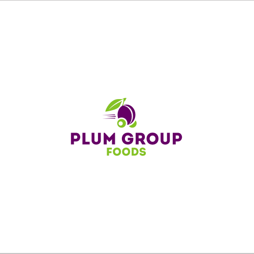 logo for plum group - food distribution