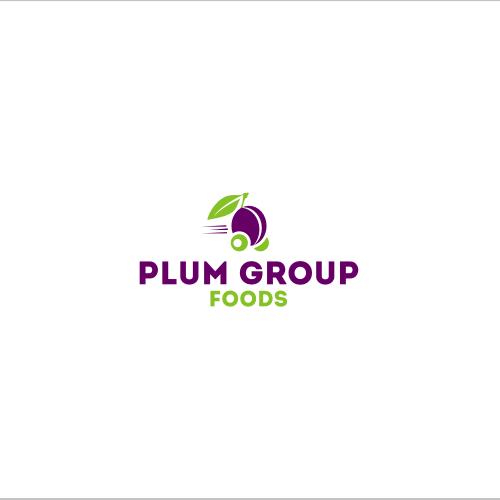 logo for plum group - food distribution