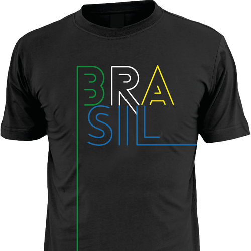 Create A Creative T-shirt Using The Theme BRASIL!
