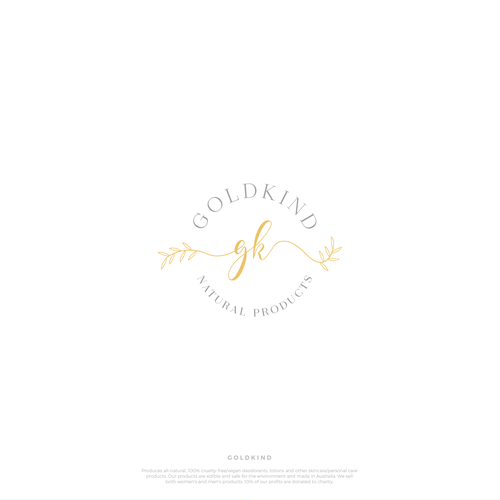 More playful logo for Goldkind