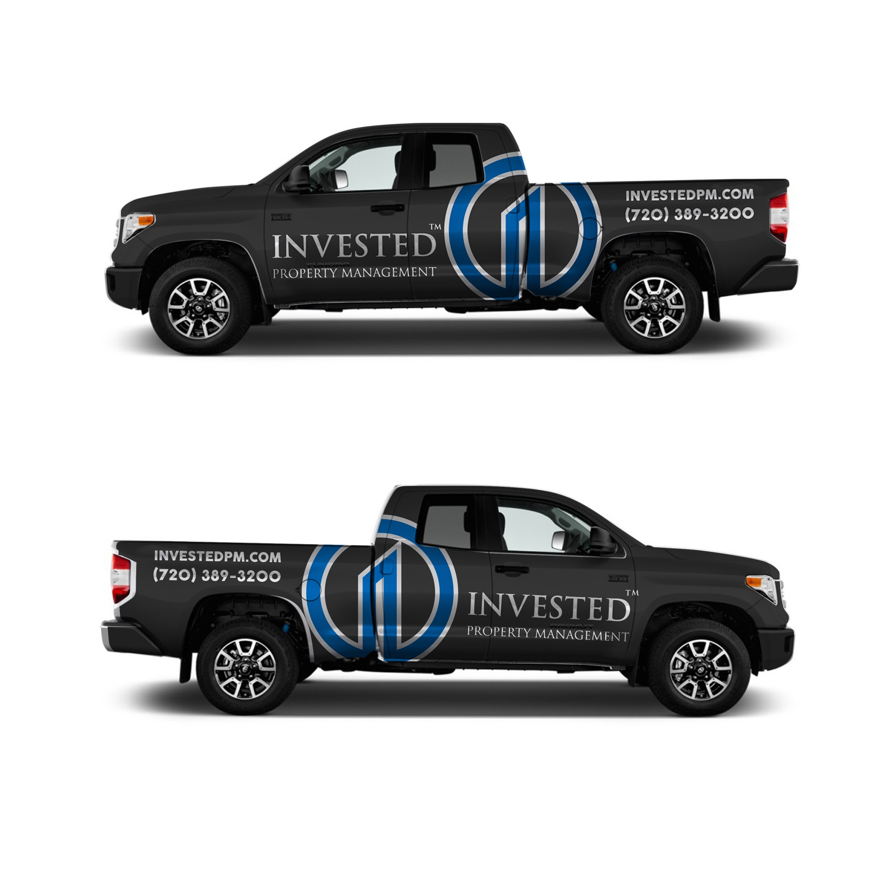 Truck Wrap Design - Property Management/Real Estate