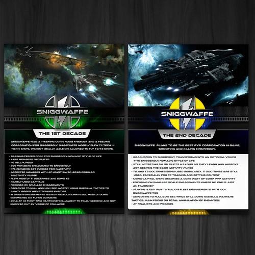 Eve online Poster Design