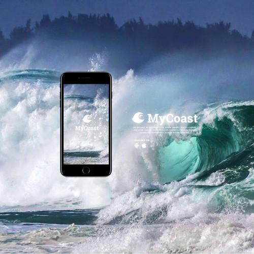 My Coast Mobile App Design